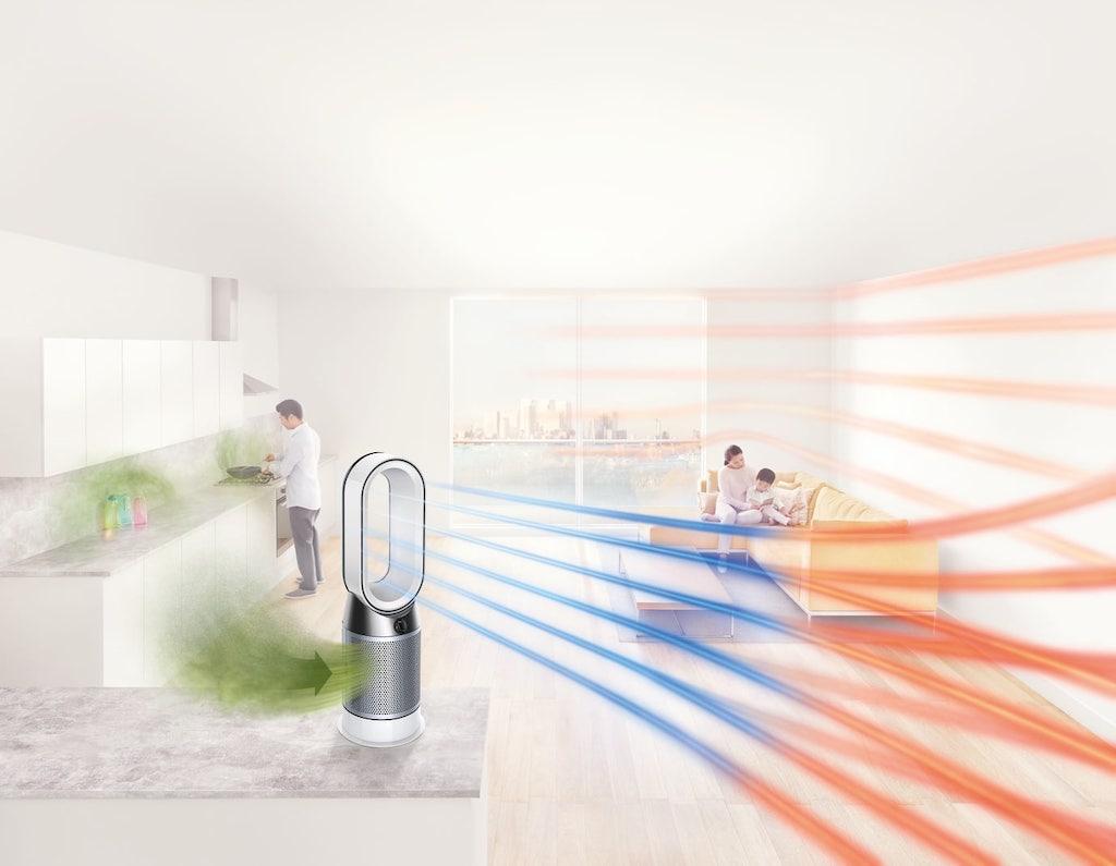 dyson stellt neuen pure hot cool luftreiniger vor macerkopf. Black Bedroom Furniture Sets. Home Design Ideas