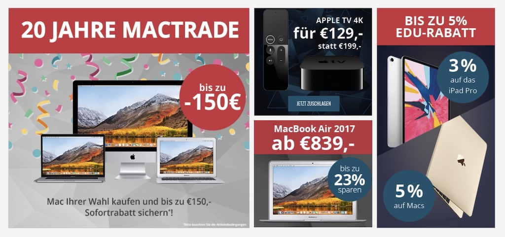 macs billiger kaufen 150 euro rabatt auf macbook air. Black Bedroom Furniture Sets. Home Design Ideas