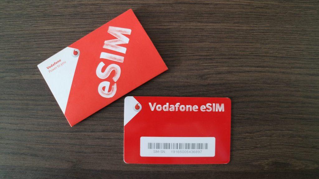 Vodafone dual sim iphone xs