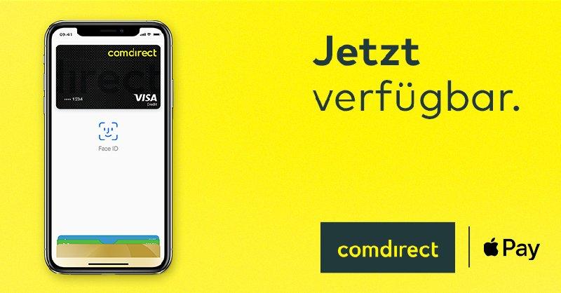 Visa Karte Comdirect.Comdirect Und Apple Pay Unterstützung Der Girocard Angekündigt