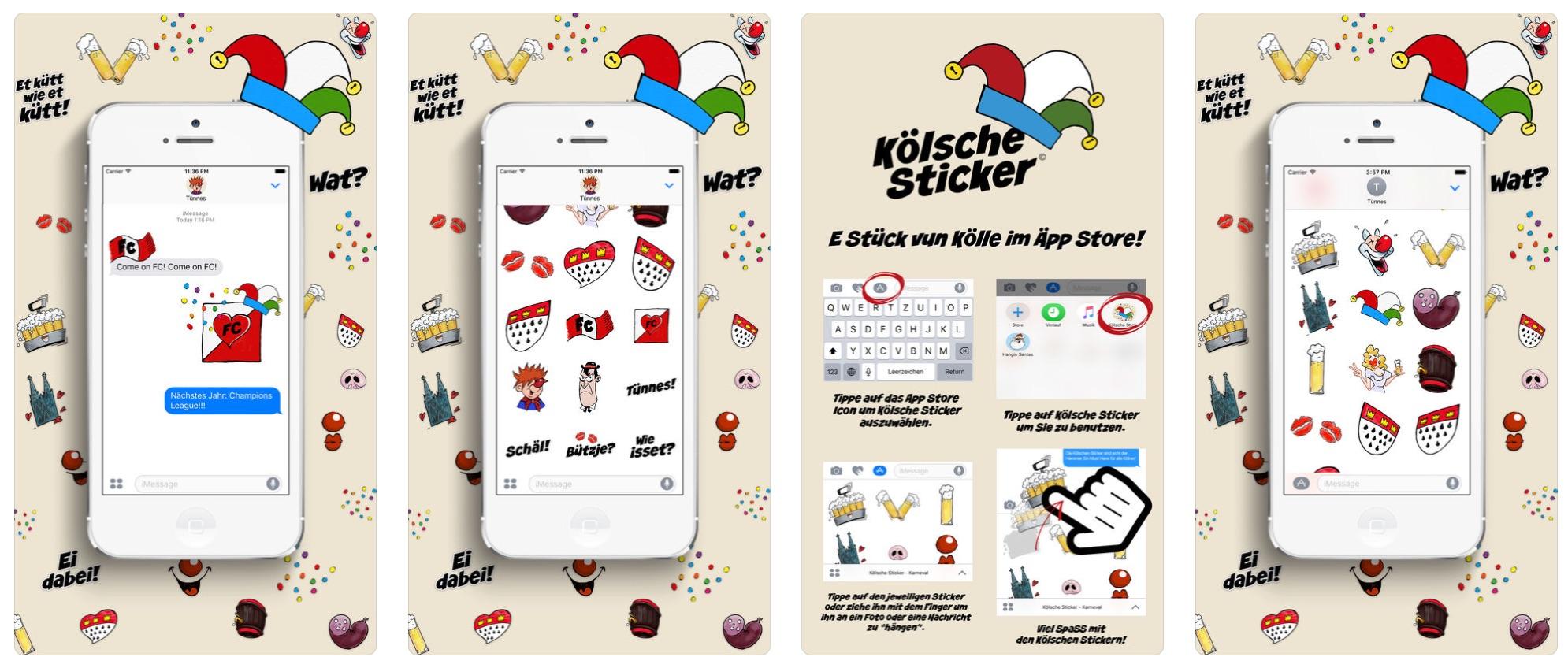 app tipps zum k lner karneval macerkopf. Black Bedroom Furniture Sets. Home Design Ideas