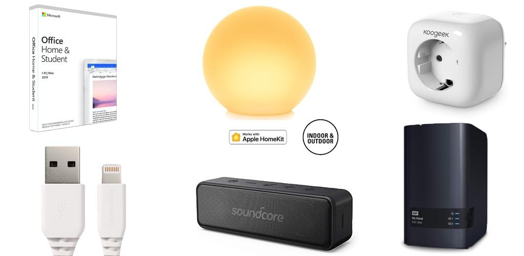 Amazon Blitzangebote: Rabatt auf HomeKit-Steckdose & -Leuchte, Lightning