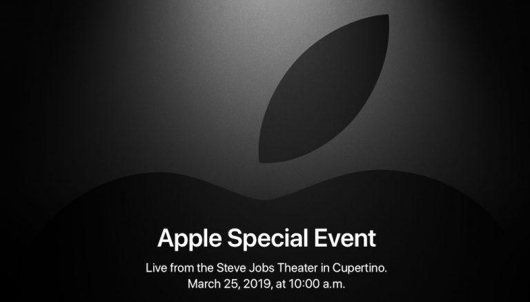 Ankündigung: Apple März 2019 Keynote im Live Ticker auf ...