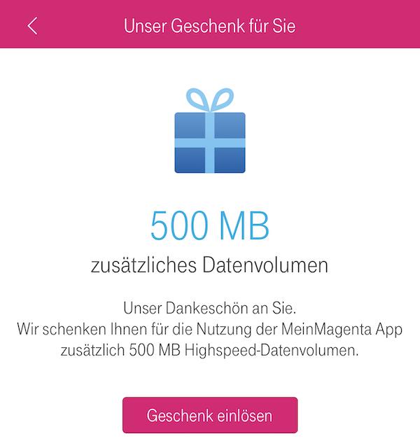 Telekom Datenvolumen Geschenkt