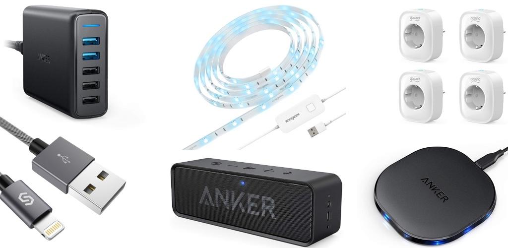 Amazon Blitzangebote: Rabatt auf HomeKit-LightStrip, iPhone XS Hüllen, Apple Watch Armbänder, Anker Zubehör, USB- und Qi