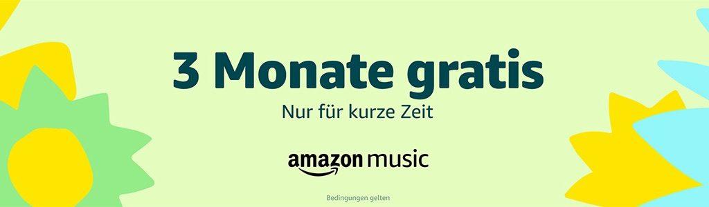 Amazon Music Unlimited: 3 Monate Kostenlos (Aktion Endet