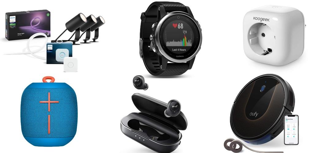 Amazon Frühlings-Angebote-Woche: Rabatt auf Philips Hue, HomeKit-Steckdose + -LightStrip, Anker Saugroboter, smarte Waagen, Lightning