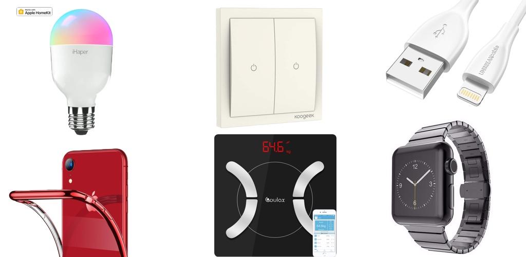 Amazon Blitzangebote: Rabatt auf iPhone XR Hüllen, HomeKit-Schalter, Qi-Ladegeräte, USB
