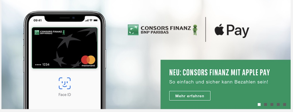 apple pay consors finanz viabuy und monese ab sofort. Black Bedroom Furniture Sets. Home Design Ideas