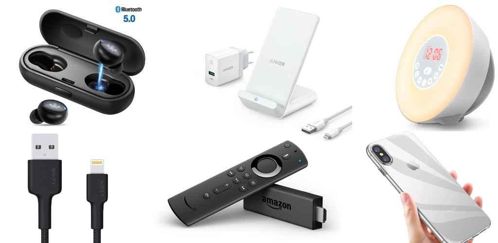 Amazon Blitzangebote: Rabatt auf Qi-Ladegeräte, Amazon Echo, Wake Up Light, iPhone- & iPad