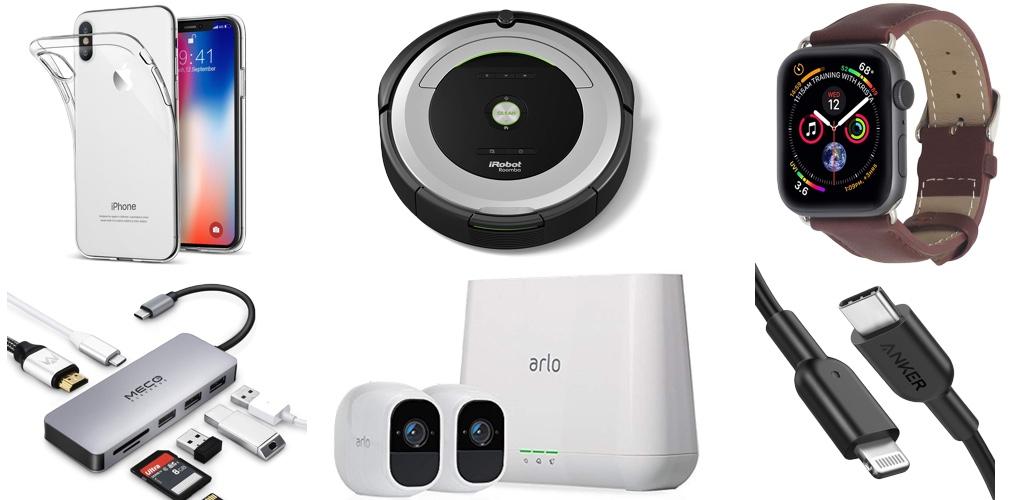 Amazon Blitzangebote: Rabatt auf iRobot, Arlo Pro 2, USB-C auf Lightning-Kabel, 4K Actioncam, Qi-Ladegerät, iPhone XS Hüllen, Apple Watch Armbänder und mehr › Macerkopf