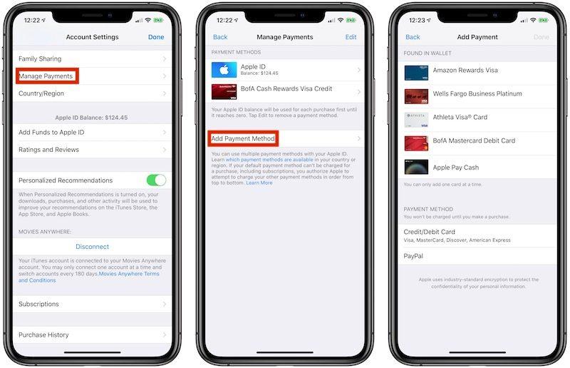 Apple Pay wird in einigen Ländern für iTunes, App Store und Co. akzeptiert › Macerkopf