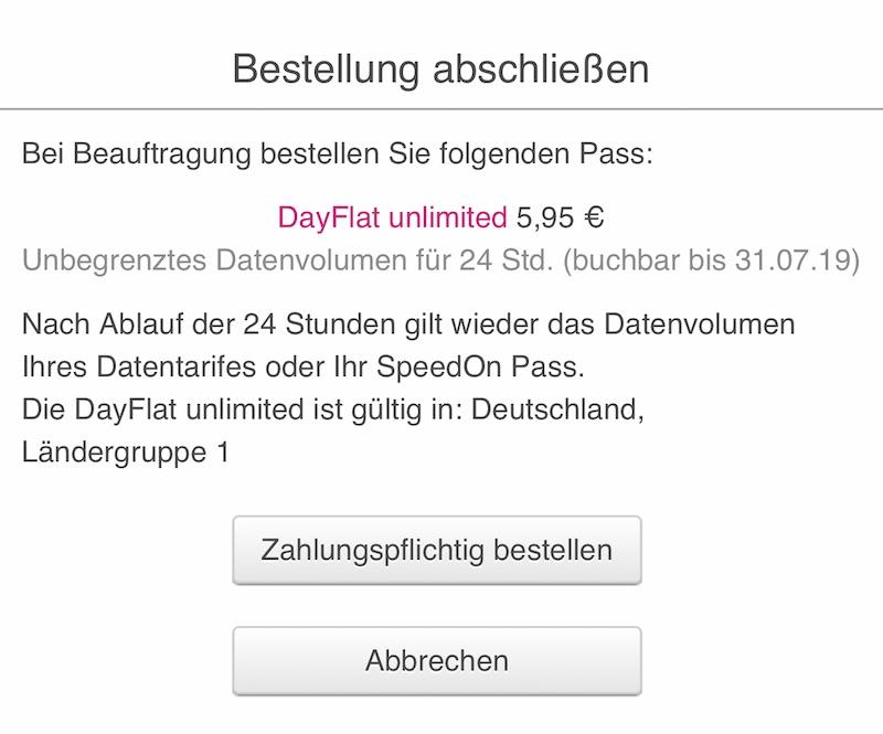 Daypass Telekom