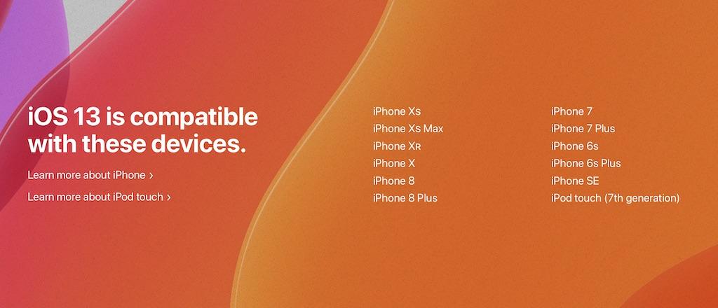 iOS 13, iPadOS 13 und macOS Catalina: Diese Geräte sind kompatibel