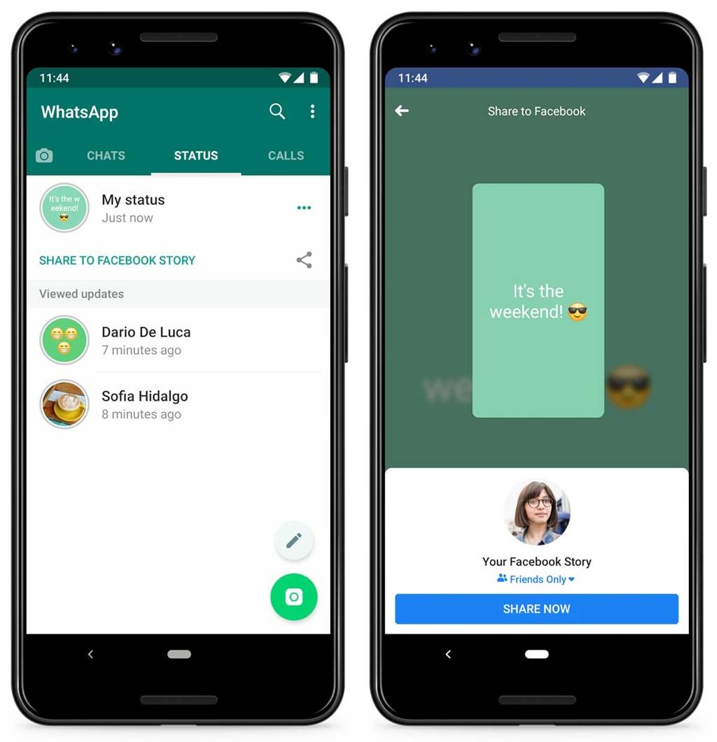 WhatsApp testet Status-Weitergabe an andere Apps › Macerkopf