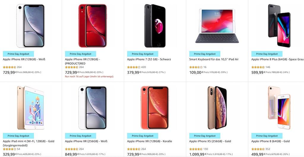 2c3c218e08cff7 Bis zu 25 Prozent Rabatt auf iPhone, iPad und Apple Zubehör [Prime Day 2019]  › Macerkopf