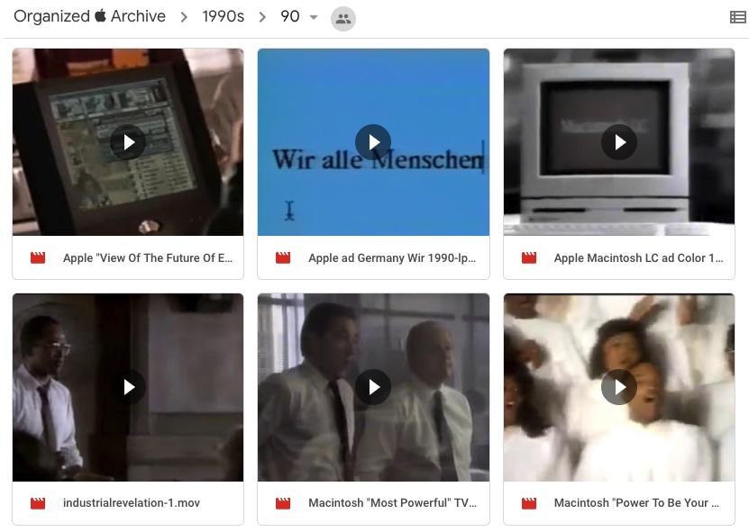 """Sammlung von Apple-Werbung soll auf dem Internet Archive erscheinen – Testlauf auf Google Drive """"verfügbar"""" › Macerkopf"""
