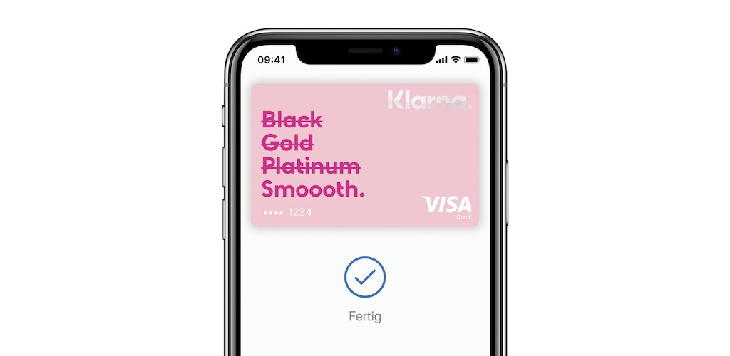 Klarna Apple Pay