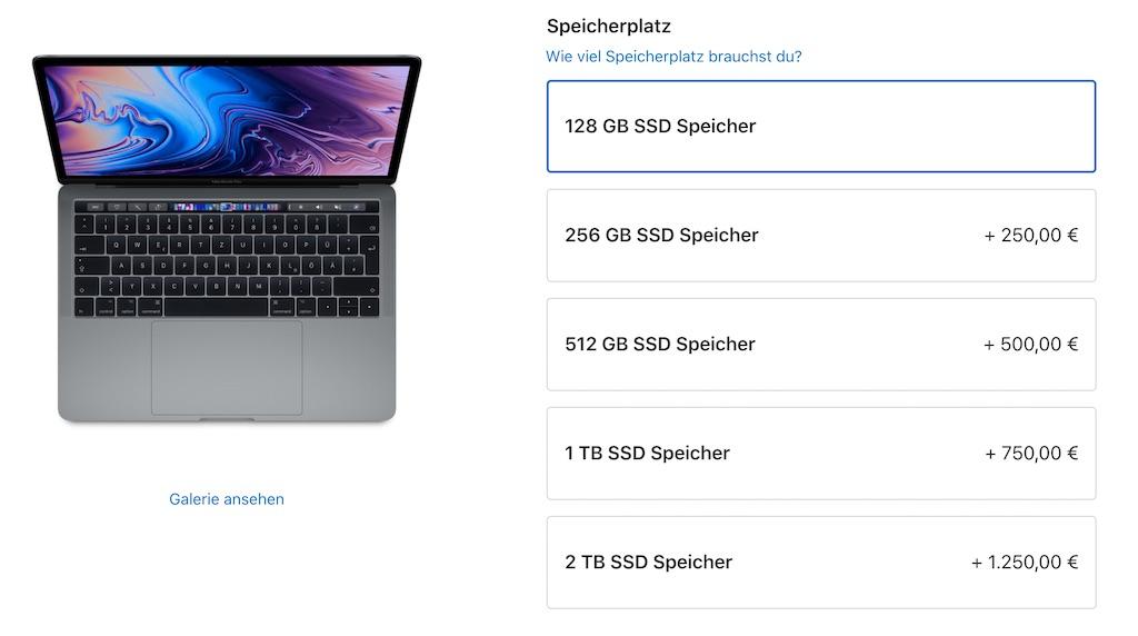 Apple senkt SSD-Preise für iMac, iMac Pro, MacBook Pro und Mac mini › Macerkopf