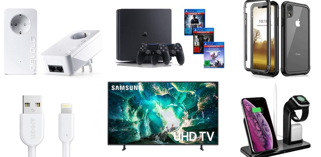 Amazon Blitzangebote: Rabatt auf PS$ Bundles, kabellose Kopfhörer, Devolo Powerline Adapter, Anker Lightning-Kabel und mehr › Macerkopf