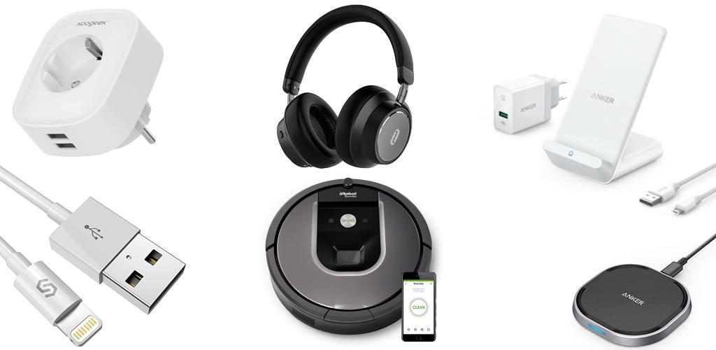 Amazon Blitzangebote: Rabatt auf iRobot Saugroboter, smarte Steckdosen, iPhone XS Hüllen, Anker Kopfhörer, Qi-Ladegeräte und mehr › Macerkopf