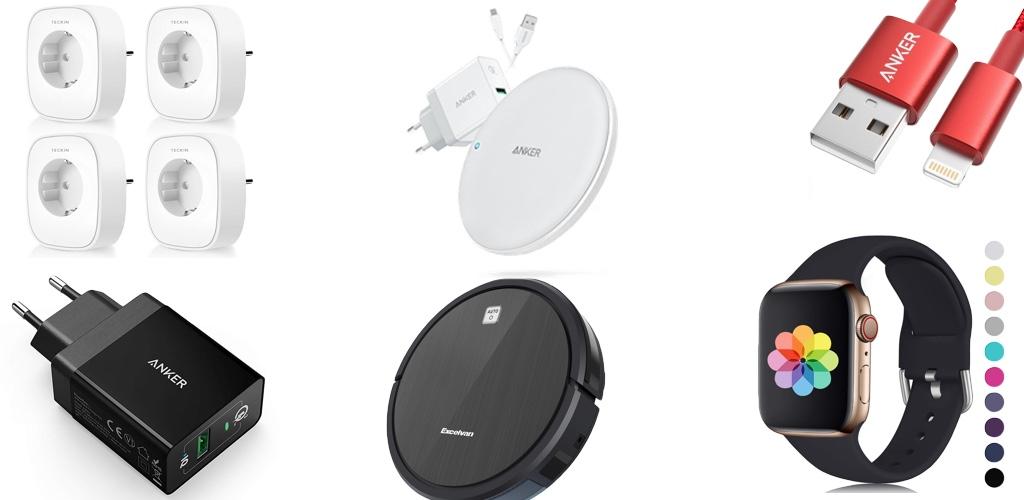 Amazon Blitzangebote: Rabatt auf Lightning-Kabel, Saugroboter, smarte Steckdosen, Anker Ladegeräte, Apple Watch Armbänder und mehr › Macerkopf