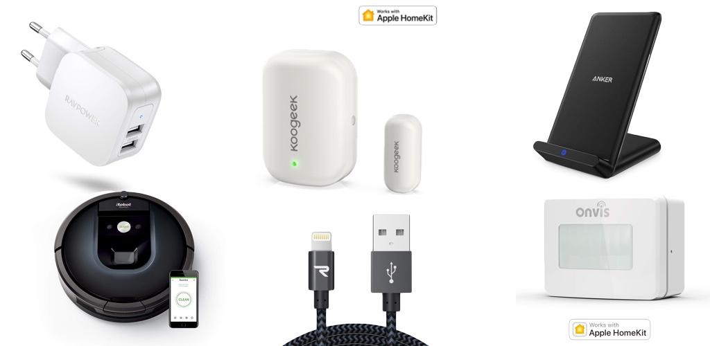 Amazon Blitzangebote: Rabatt auf HomeKit-Sensoren, iRobot, Lightning-Kabel, smarte Waage, iPhone XS Case, Qi-Ladegeräte und mehr › Macerkopf