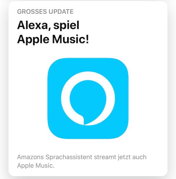 Amazon Echo Lautsprecher ab sofort mit Apple Music kompatibel