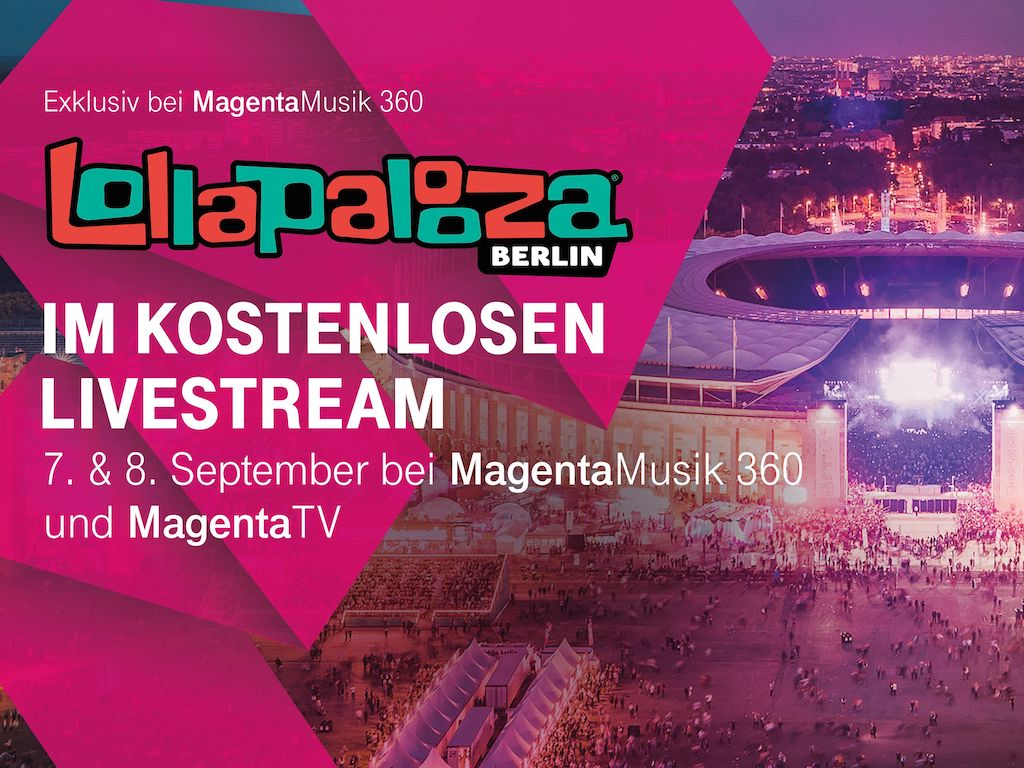 Exklusiver Livestream: Telekom zeigt Lollapalooza-Festival › Macerkopf