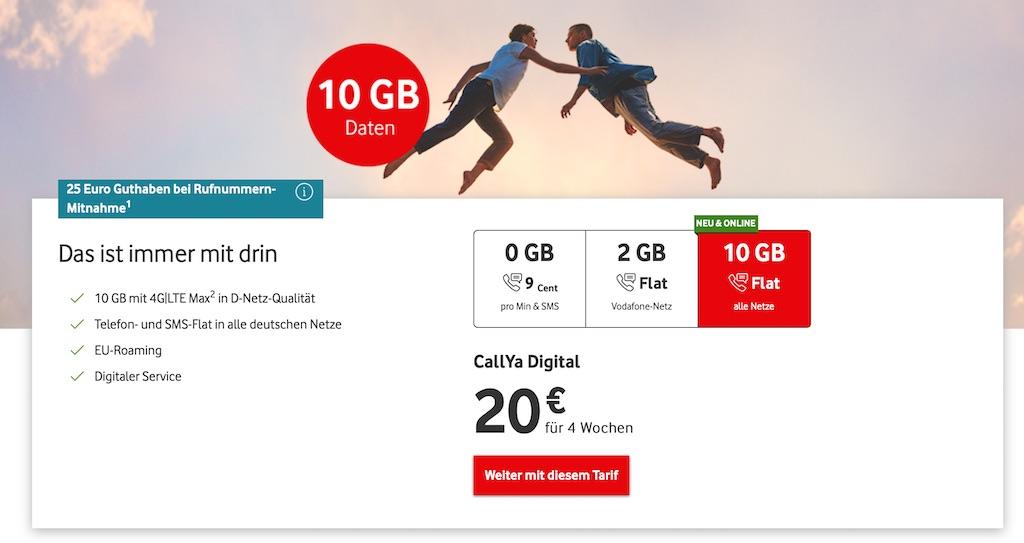 Vodafone Callya Digital