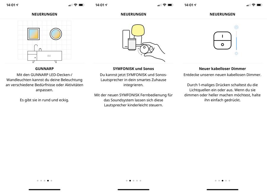 IKEA Home Smart: Support für Symfonisk-Lautsprecher, GUNNARP LED-Leuchten und mehr › Macerkopf