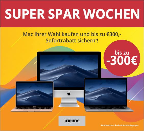 """Bis zu 300 Euro Rabatt auf MacBook Air, MacBook Pro und iMac: MacTrade startet """"Super Spar Wochen"""" › Macerkopf"""