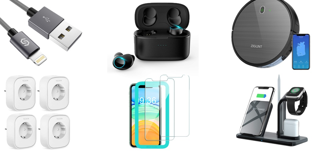 Amazon Blitzangebote: Rabatt auf iPhone 11 Panzerglas, kabellose Kopfhörer, Saugroboter, Apple Watch Armbänder, Lightning-Kabel und mehr › Macerkopf