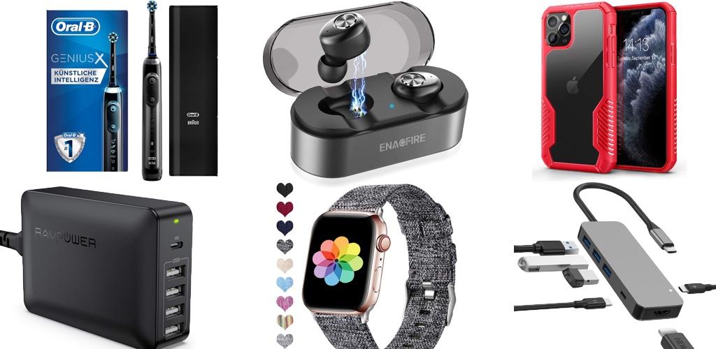 Amazon Blitzangebote: Rabatt auf kabellose Kopfhörer, Apple Watch Armbänder, Lightning-Kabel, iPhone-Hüllen, USB-C Hubs und mehr › Macerkopf