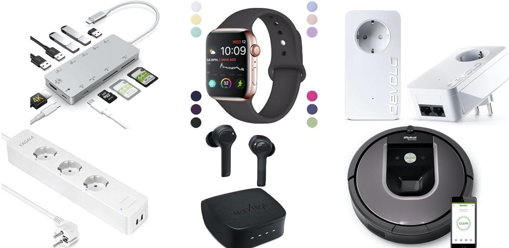 Amazon Blitzangebote: Rabatt auf kabellose Kopfhörer, Apple Watch Armbänder, 4K Actioncams, Anker Saugroboter, USB-C Hubs und mehr › Macerkopf