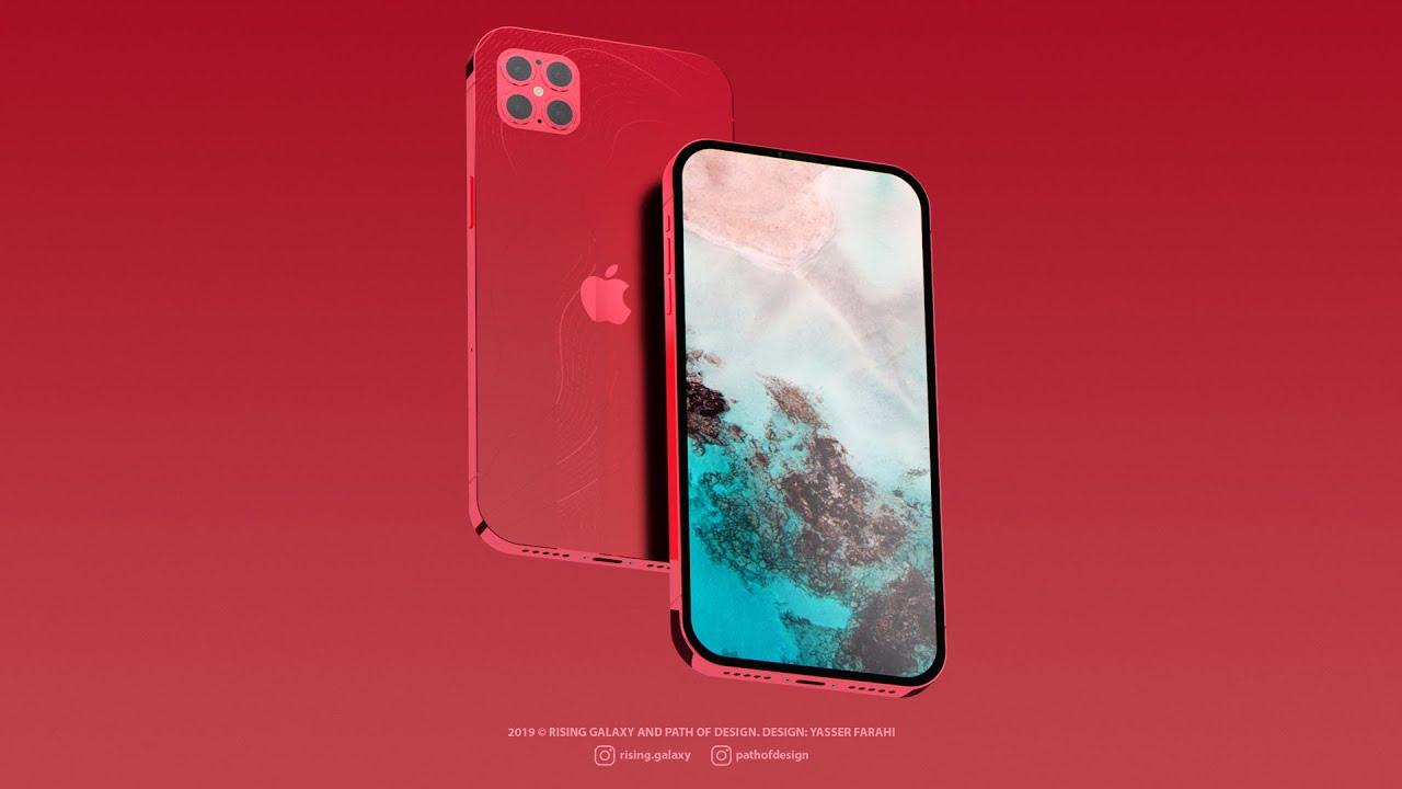 iPhone 12 Pro Konzept zeigt neues Design mit ProMotion Display, vier Kameras und mehr › Macerkopf