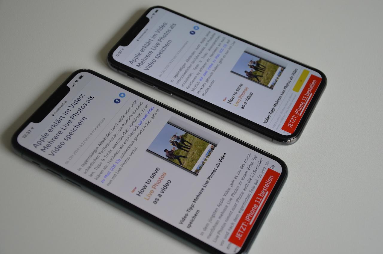 "Apple informiert über ""iPhone 11 Pro Ortungsdienste"" – iOS-Update bringt neuen Schalter › Macerkopf"
