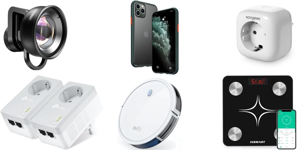 Amazon Blitzangebote: Rabatt auf HomeKit-Steckdose & -LEDs, iPhone 11 & 11 Pro Hüllen, Lightning-Kabel, Lautsprecher, kabellose Kopfhörer und mehr › Macerkopf
