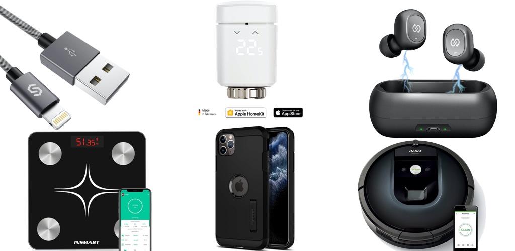 Amazon Blitzangebote: Rabatt auf HomeKit-Heizkörperthermostat & -Steckdose, iPhone 11 & 11 Pro Hüllen, Lightning-Kabel, kabellose Kopfhörer und mehr › Macerkopf