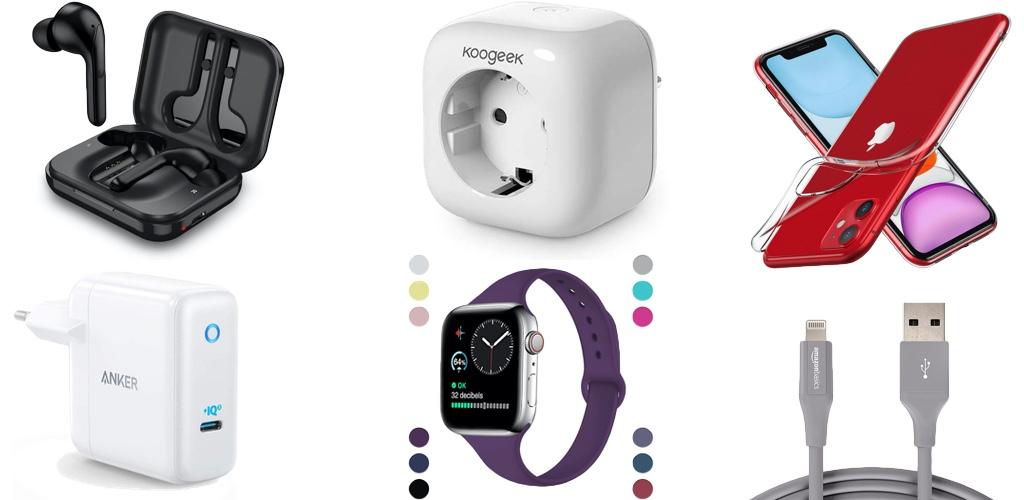 Amazon Blitzangebote: Rabatt auf iPhone 11 & 11 Pro Hülle, HomeKit-Steckdose, 4K Actioncam, Lightning.Kabel, Qi-Ladegeräte, Saugroboter und mehr › Macerkopf