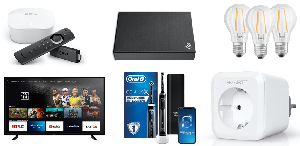 Amazon Blitzangebote: Rabatt auf 5TB ext. Festplatte, HomeKit-Mehrfachsteckdose & -Bewegungsmelder, iPhone 11 & 11 Pro Hülle, Oral B, eero WLAN-Mesh-System und mehr › Macerkopf