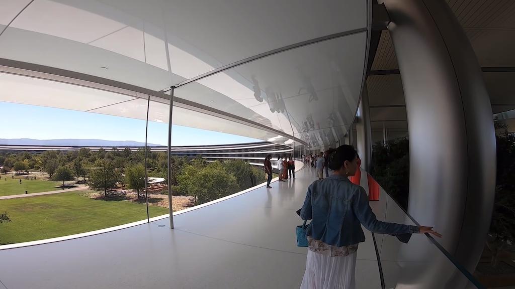 Video: Ein Spaziergang durch den nicht-öffentlichen Teil des Apple Parks › Macerkopf
