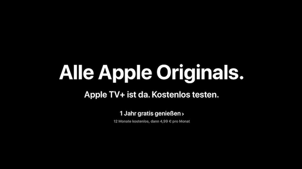 Apple erinnert Nutzer an 1-jährige kostenlose Testphase von Apple TV+ › Macerkopf