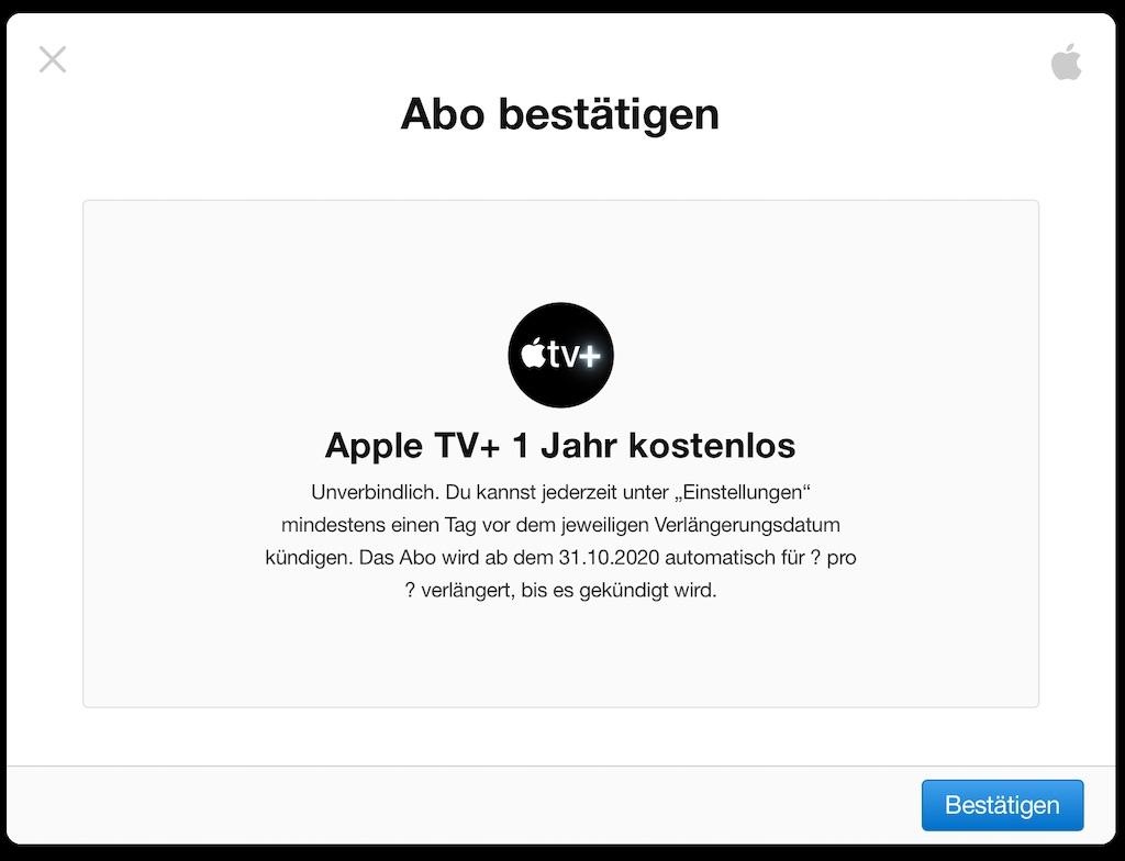 Apple Tv 1 Jahr Kostenlos