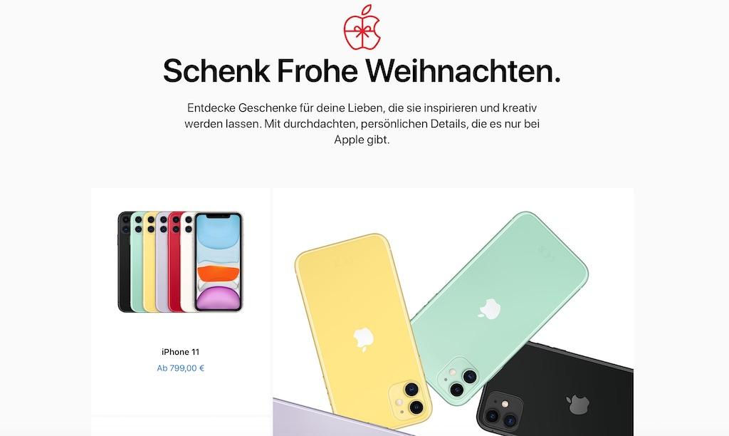 """Apple präsentiert """"Weihnachtsgeschenke 2019"""" › Macerkopf"""