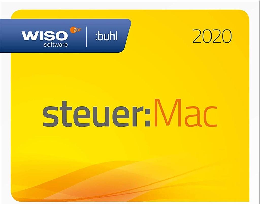 wiso steuer mac 2020 steuerjahr 2019 vor bergehend nur 20 79 euro macerkopf. Black Bedroom Furniture Sets. Home Design Ideas