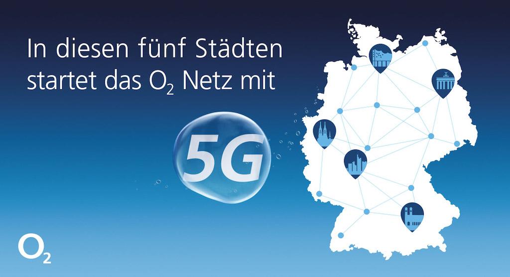 Telefónica 5G: Netzausbau übernimmt Huawei und Nokia