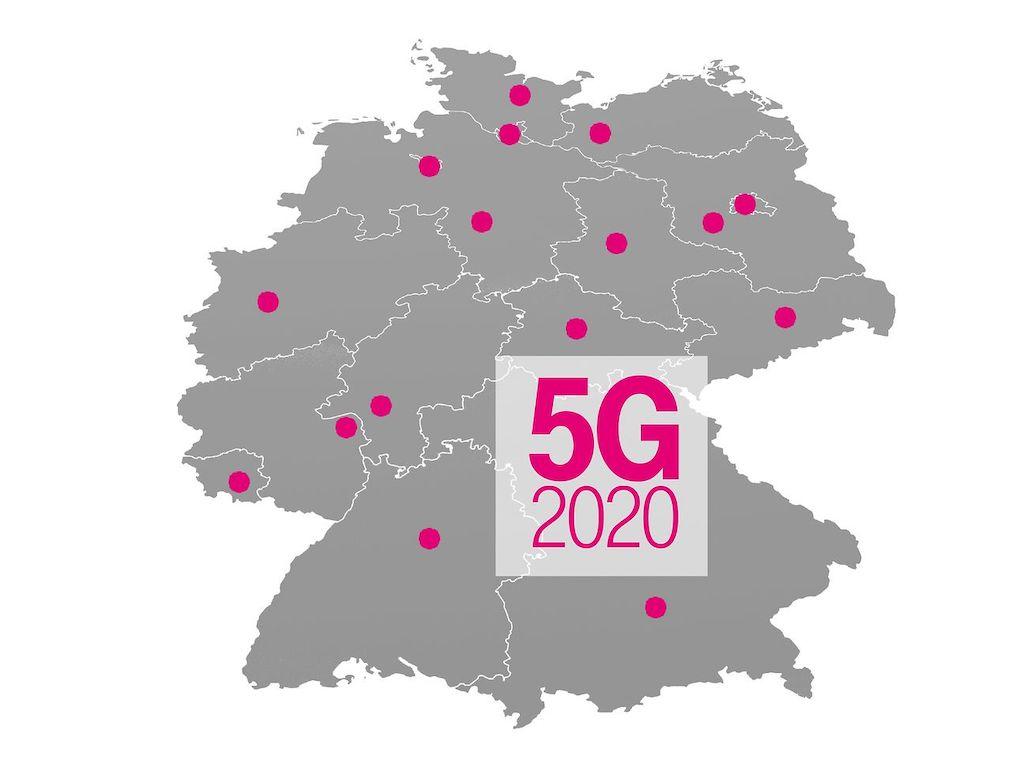 Telekom informiert über 5G-Ausbau