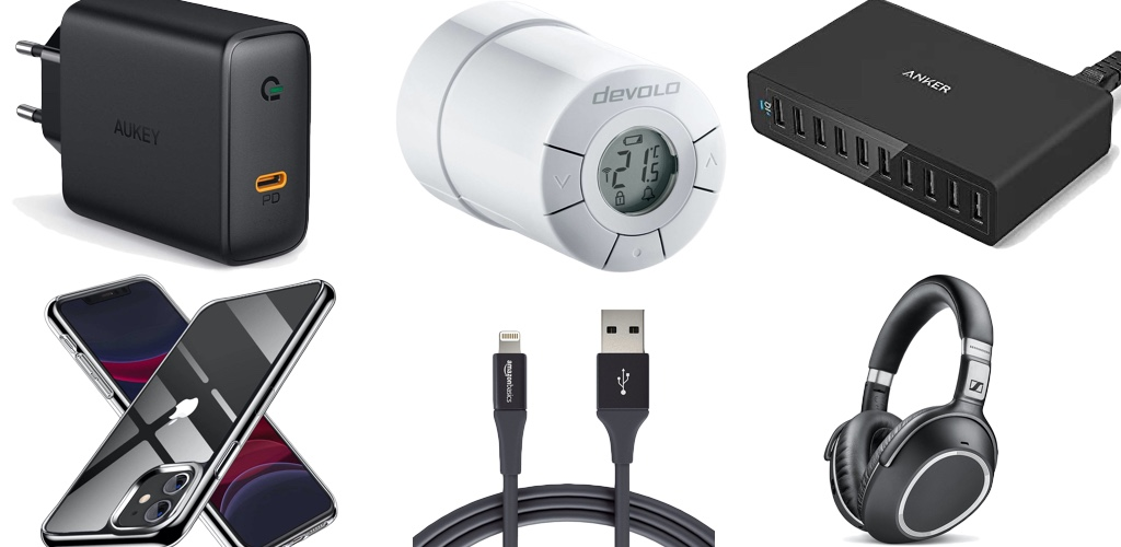 Amazon Blitzangebote: Rabatt auf Anker 10-Port USB-Ladegerät, Lightning-Kabel, iPhone 11 & 11 Pro Cases, smarte Waagen, Saugroboter, Devolo Smart Home und mehr › Macerkopf