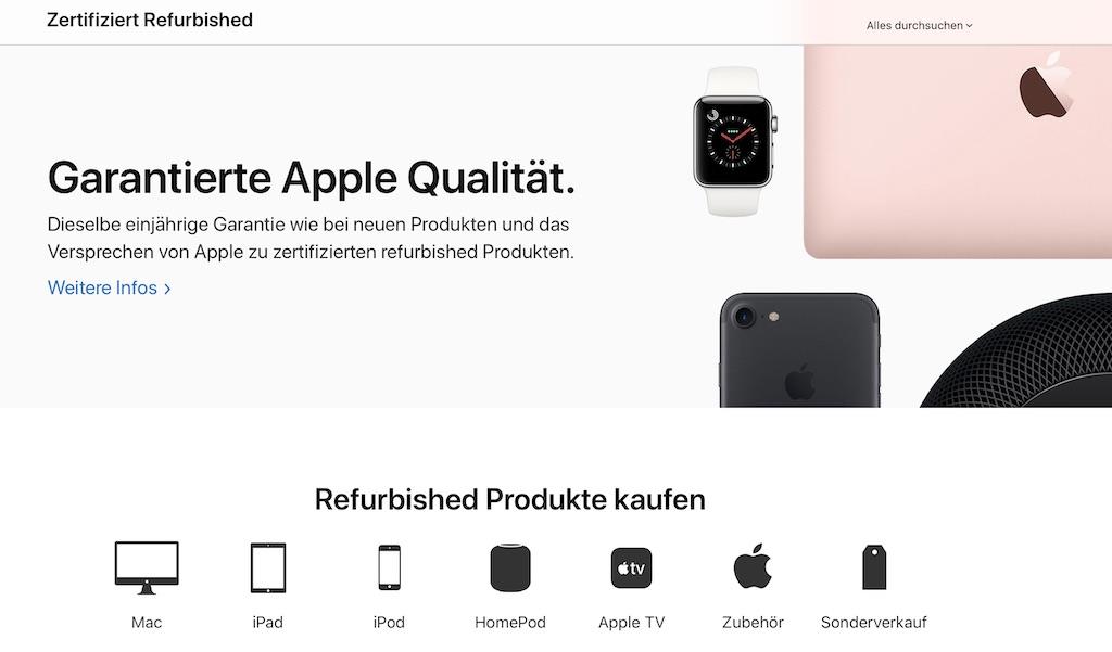 Gebrauchte 16 Zoll MacBook Pro im Apple Refurbished Store – neue Macs mit bis zu 300 Euro Rabatt › Macerkopf